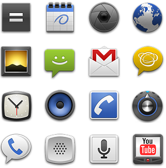 Icon Design Guidelines, Android 2.0 | Android Developers