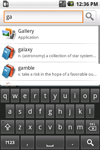 Search In S Android Source Code Screenshot 1