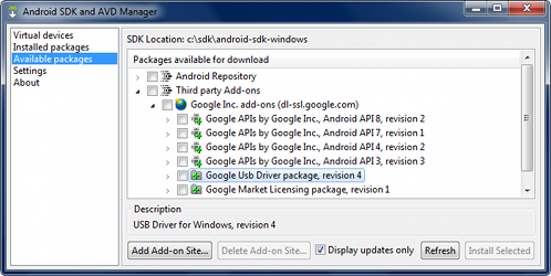 Google USB Driver | Android Developers