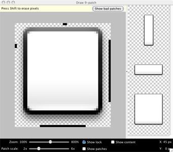 Forum : Créer un splashscreen avec draw9patch   Grafikart fr