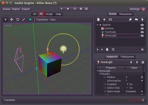 Introduction to 3D — Godot Engine latest documentation