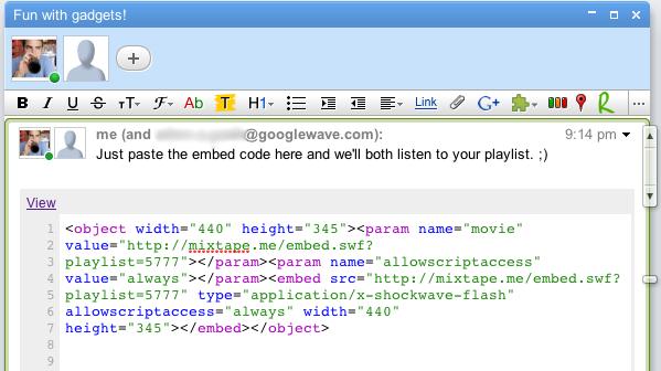 html-gadget