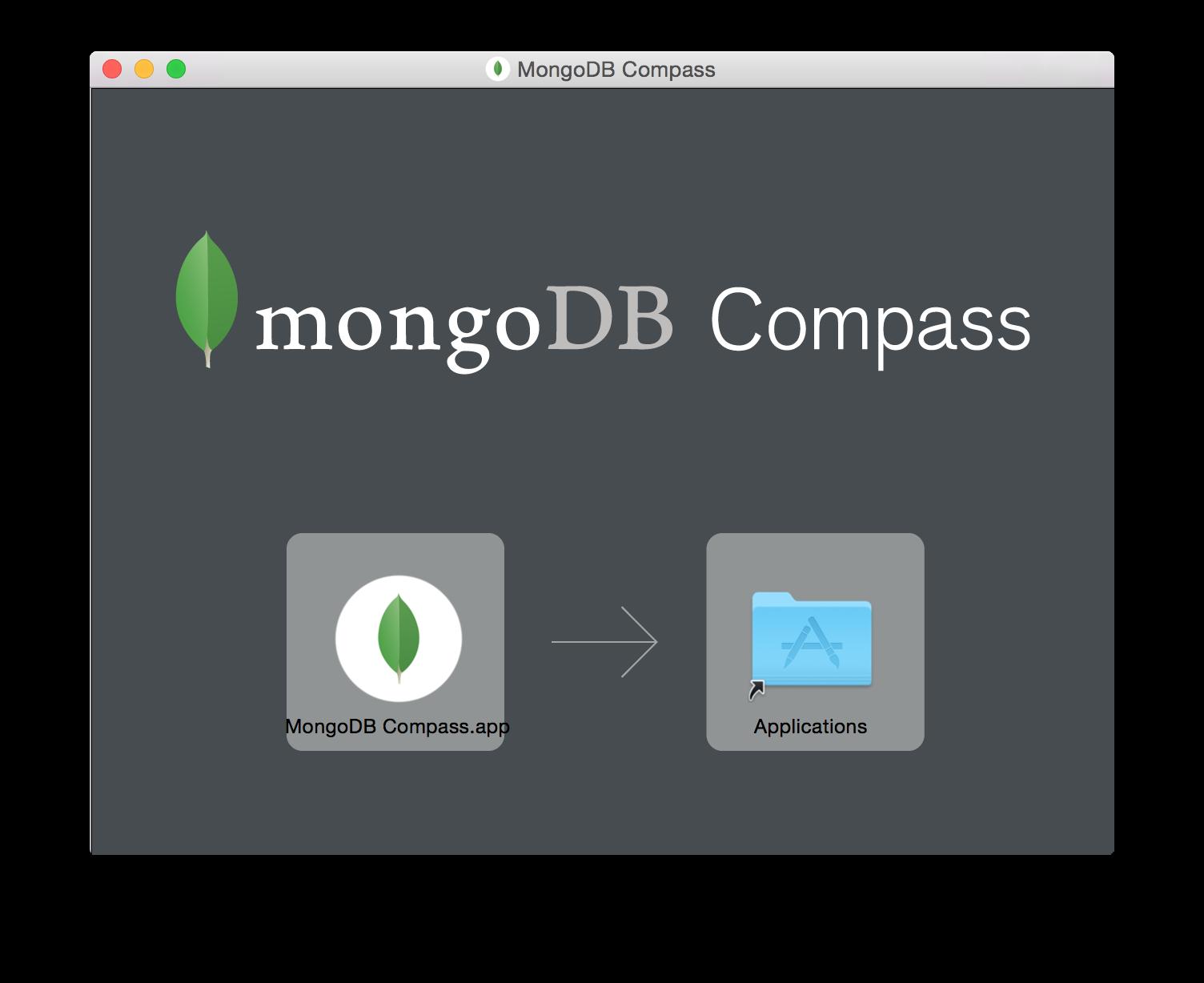 MongoDB Compass — MongoDB Manual 3 2