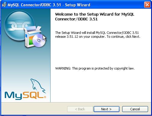 ODBC TÉLÉCHARGER 3.51 CONNECTOR MYSQL