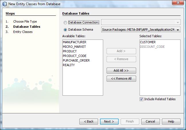 Binding Beans and Data in a Desktop Application - NetBeans