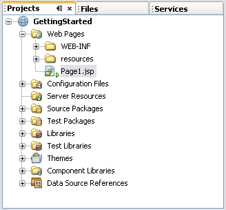 NetBeans IDE 6 0 - Tutorials - Getting Started With Visual Web JSF