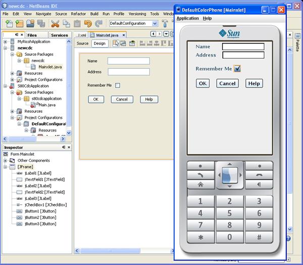 NetBeans 6 0 CDC Development Quick Start Guide
