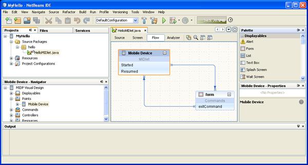 NetBeans 6 0 CLDC/MIDP Development Quick Start Guide