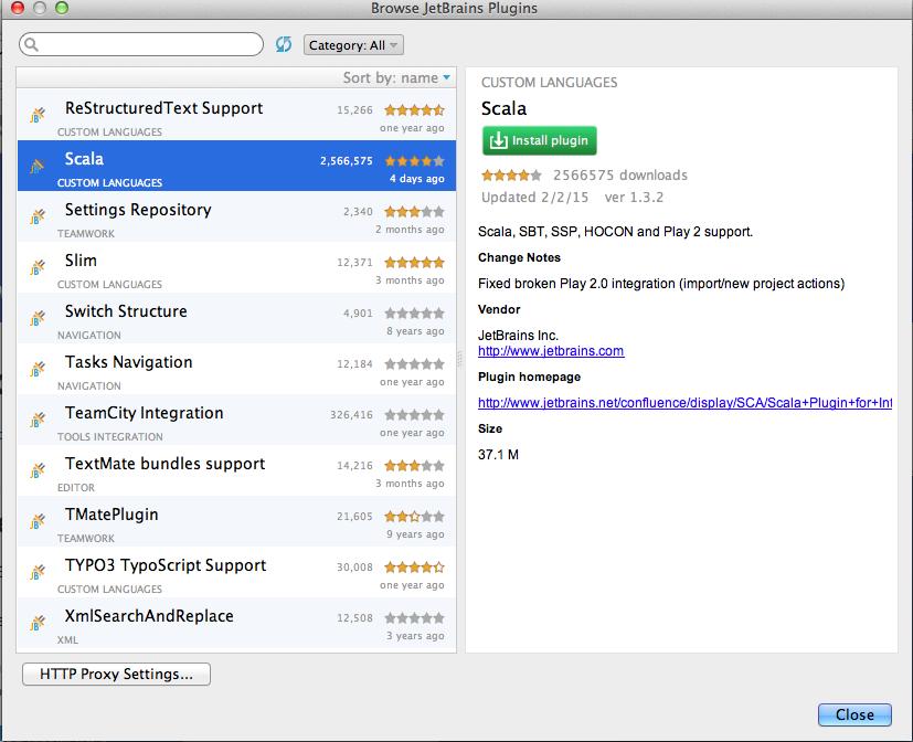 Intellij idea plugin scala | Working With Spark And Scala In