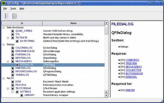 Qt 4 2: Fine-Tuning Features in Qtopia Core