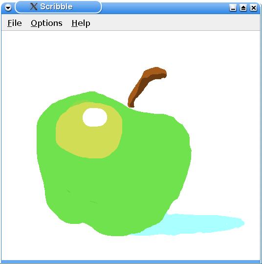 Qt 4 2: Scribble Example