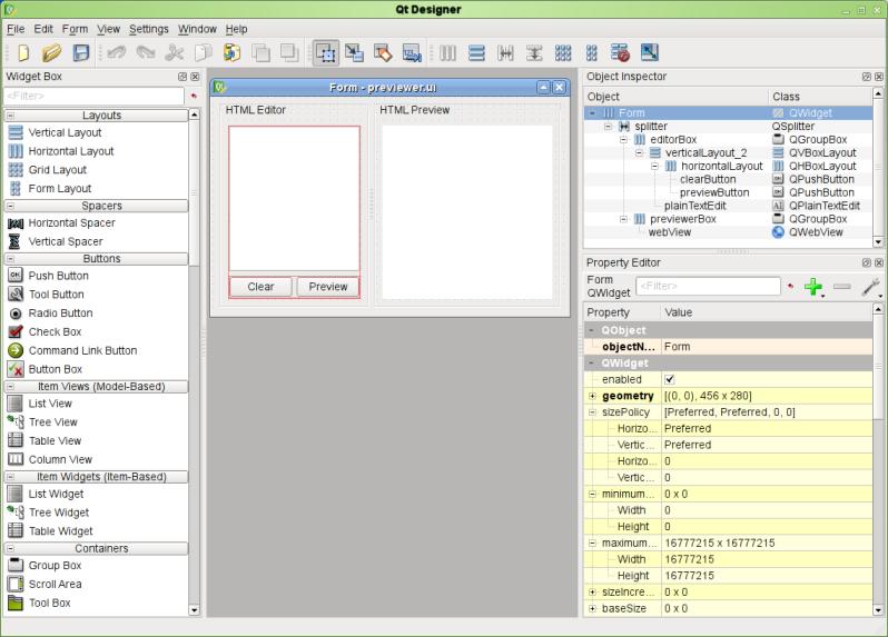 Qt 4 5: Getting to Know Qt Designer