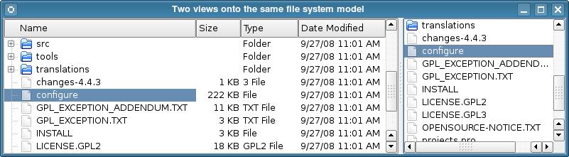 Qt 4 7 0: Model/View Programming