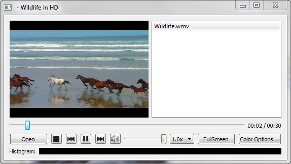 Media Player Example   Qt Multimedia Widgets 5 4