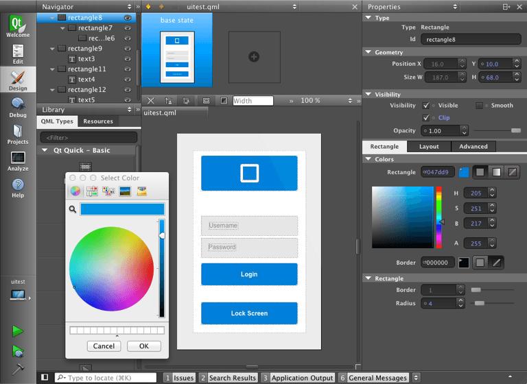 Using Qt Quick Designer Extensions | Qt Creator Manual