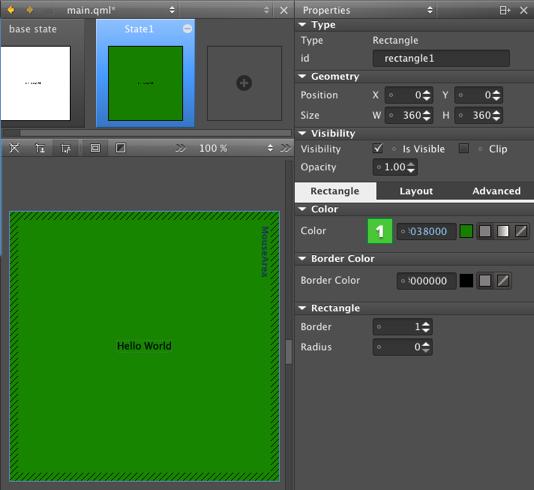 Using Qt Quick Designer | Qt Creator Manual