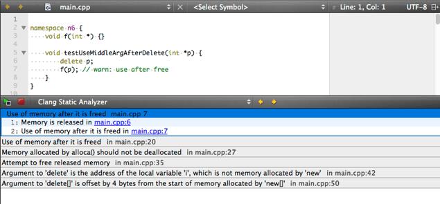Using Clang Static Analyzer | Qt Creator Manual