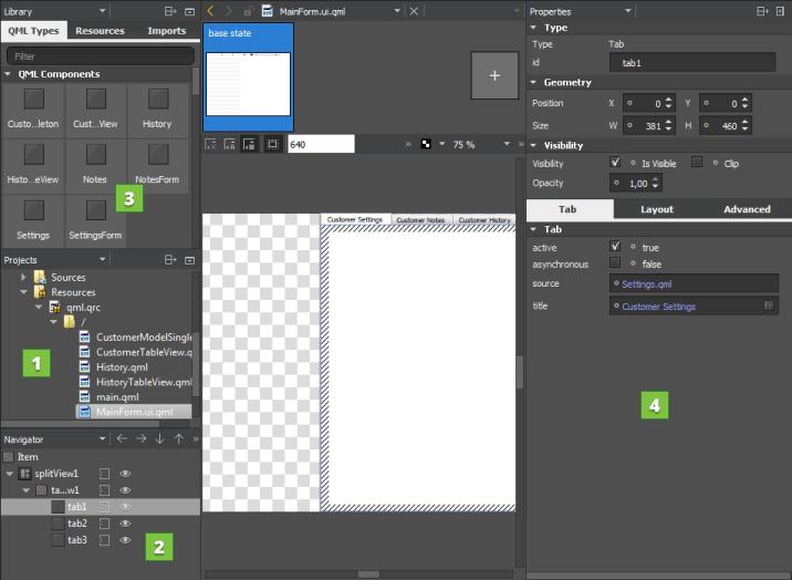 Using Qt Quick UI Forms | Qt Creator Manual