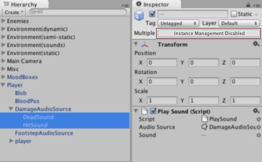 Unity - Multi-Object Editing