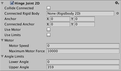 Unity - Hinge Joint 2D