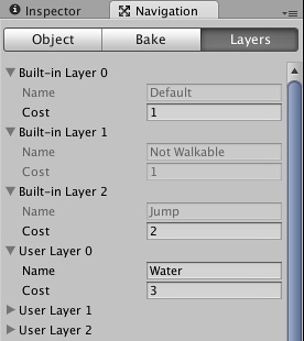 Unity - NavMesh Layers (Pro only)