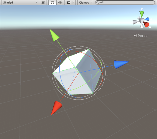 Unity - Scripting API: Handles ArrowCap