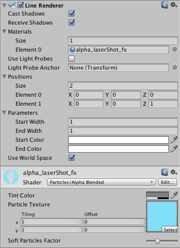 Unity - Manual: Line Renderer