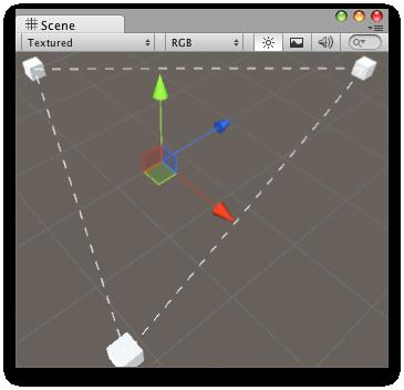 Unity - Scripting API: Handles DrawDottedLines