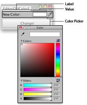 Unity - Scripting API: EditorGUI ColorField