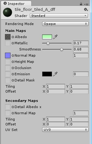 Unity - Manual: The Inspector Window