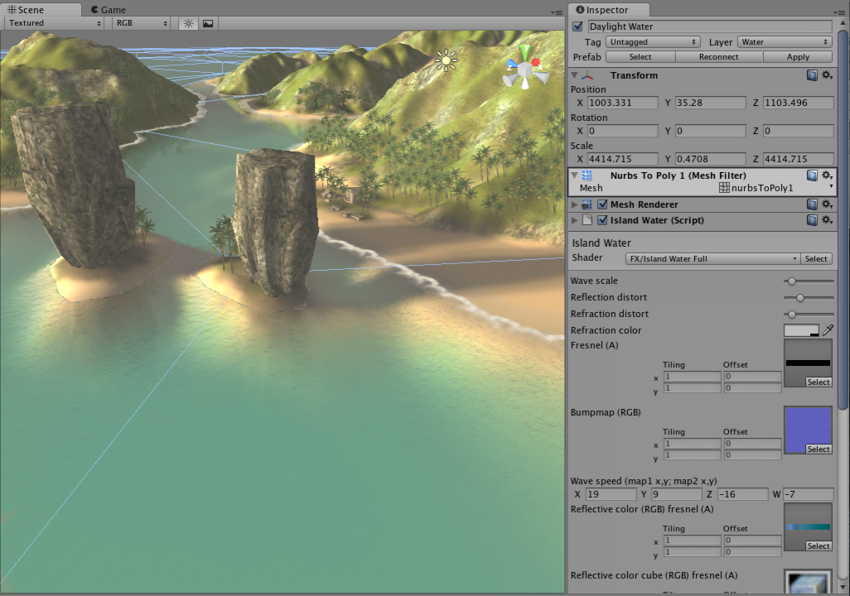 Unity - Manual: Water in Unity